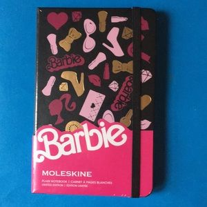 Limited Edition Barbie Moleskine Notebook